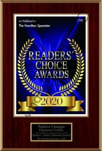 Readers Choice Award The Hamilton Spectator 2020