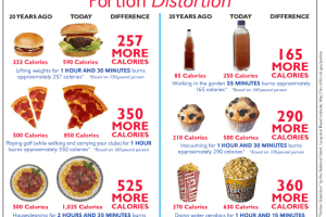 Portion vs Serving Size