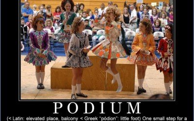 The Podium – Making it Positive