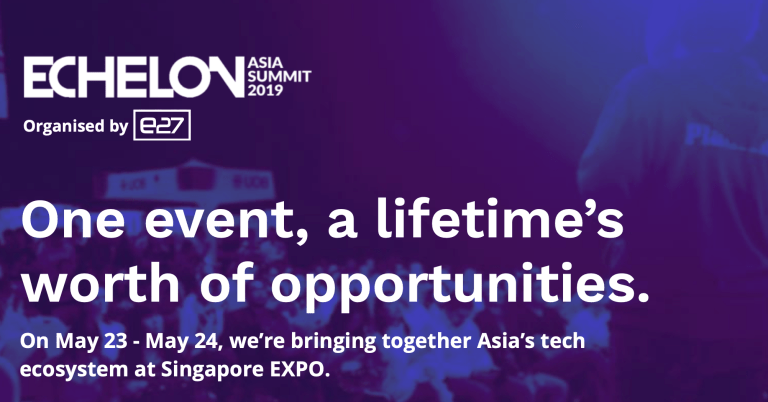 Come and meet us at Echelon, 23rd / 24th of May 2019 (SG)