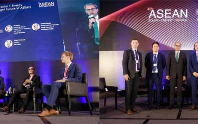 Our CFO, Vincent Bakker, at the ASEAN Solar Energy Storage Manila, Philippines
