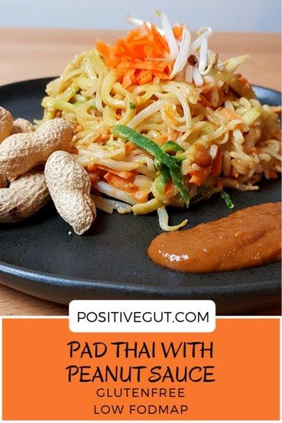 Pad Thai fodmap and gluten free