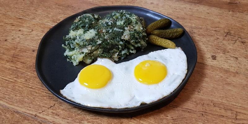 Low FODMAP Kale and Mash