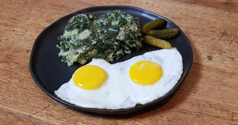 Low FODMAP Kale and Mash