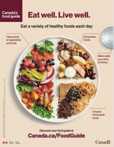 canada food guide 2019 front page