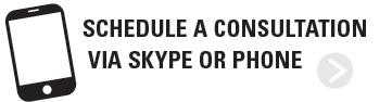Schedule a consultation via skype or phone