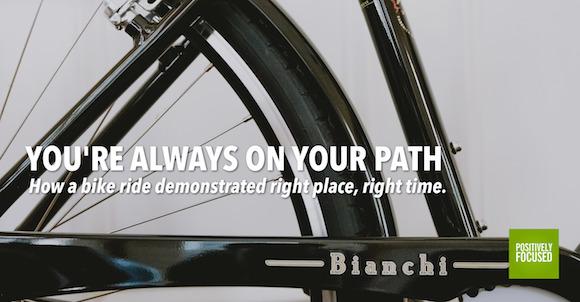 Caleb Woods bike ride FB blog