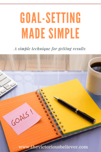 Learn a simple method for setting goals that bring results. Easy and effective goal-setting method