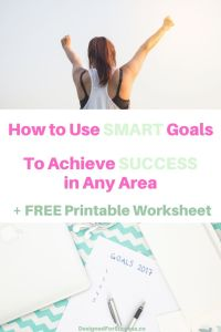 How to use SMART goals to achieve spiritual, personal and professional growth and success. Plus get the FREE SMART Goals worksheet!