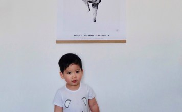 the birth poster - AQUARELLE