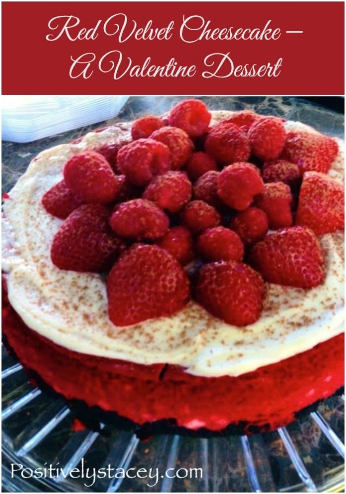 Red Velvet Cheesecake – A Valentine Dessert