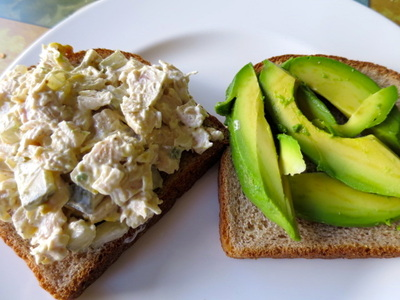 Budget Meal Planning chicken Salad Sandwiches