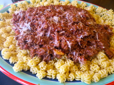 Budget Meal Planning Pasta With Meat Sauce