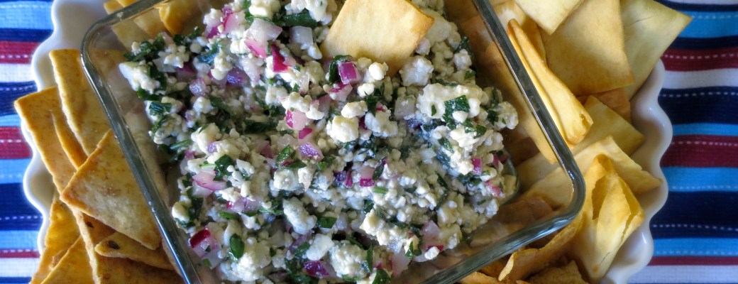 Blue Cheese Crumbles Appetizer