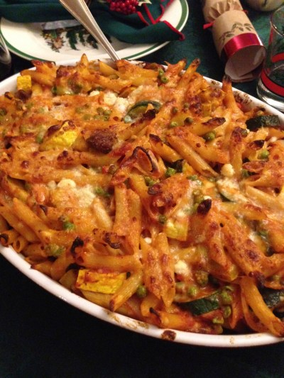 Baked-Penne-with-roasted-vegetabels