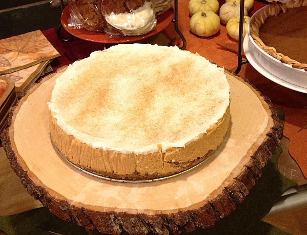 pumpkin-amaretto-cheesecake