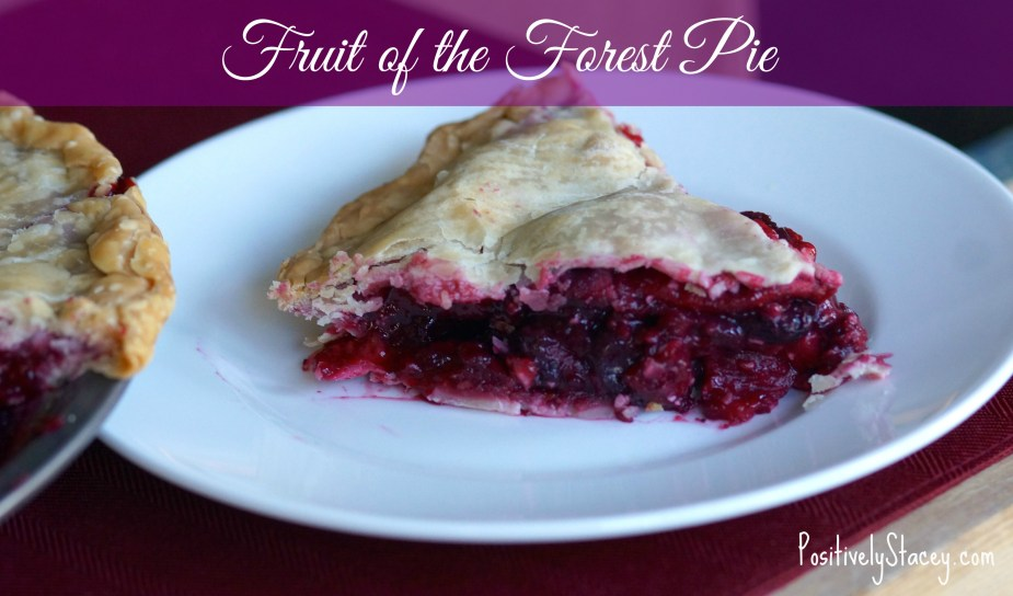 Fruit of the forest pie