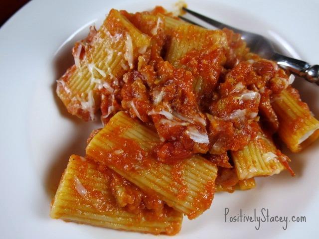 Pancetta Pasta Bowl