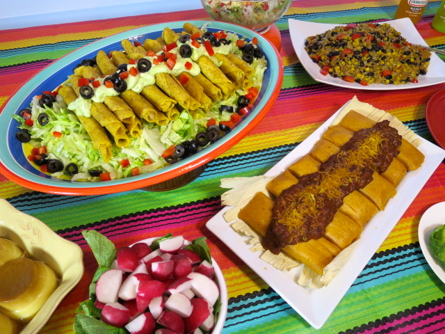 An Easy Mexican Fiesta Dinner Menu
