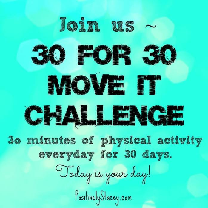 30 Day Move it Fitness Chalenge