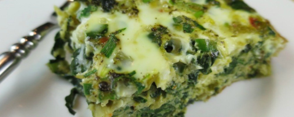 Triple Greens Frittata Recipe
