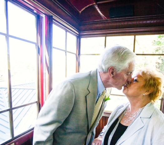My parents recently celebrated their 55th wedding anniversary!
