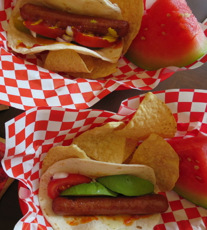 Tortilla Dogs: A House Boating Creation