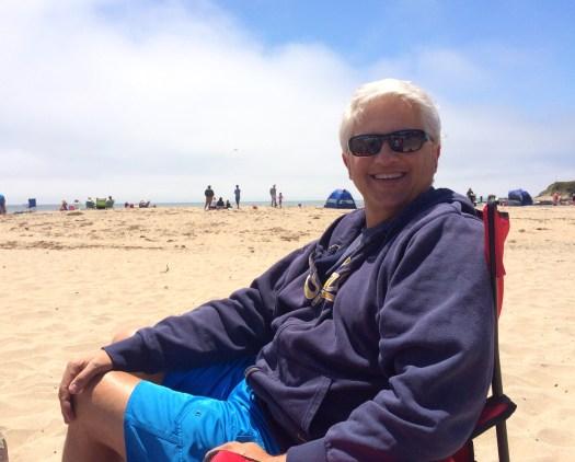 Gavin at Beach