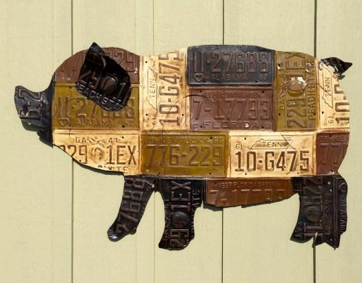 Pig Sign