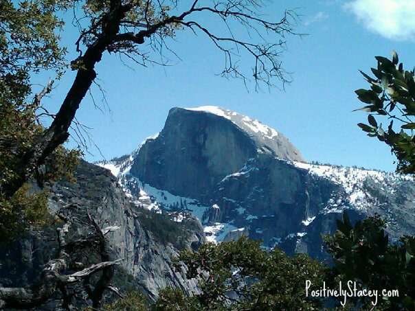 Half Dome Snow Capped
