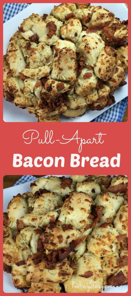 Pull-Apart Bacon Bread Pin