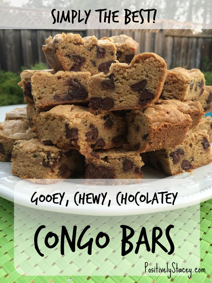 Oh my! This Congo Bars Recipe is amazing! I need to make this for our next family gathering! Everyone love them!
