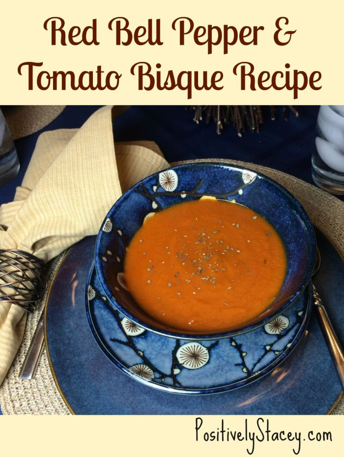 Red Bell Pepper and Tomato Bisque