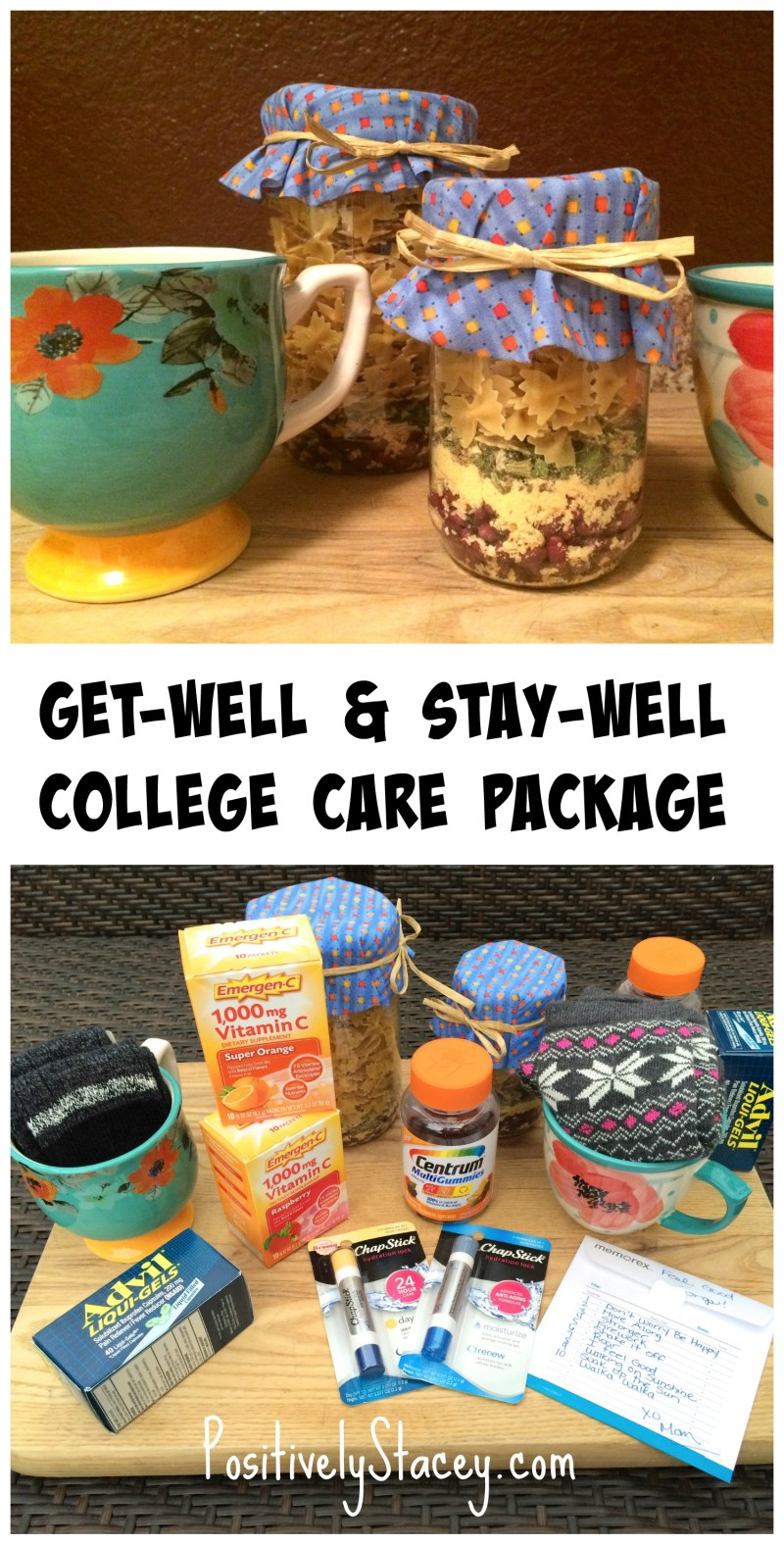 How to put together a Get-Well & Stay-Well College Care Package
