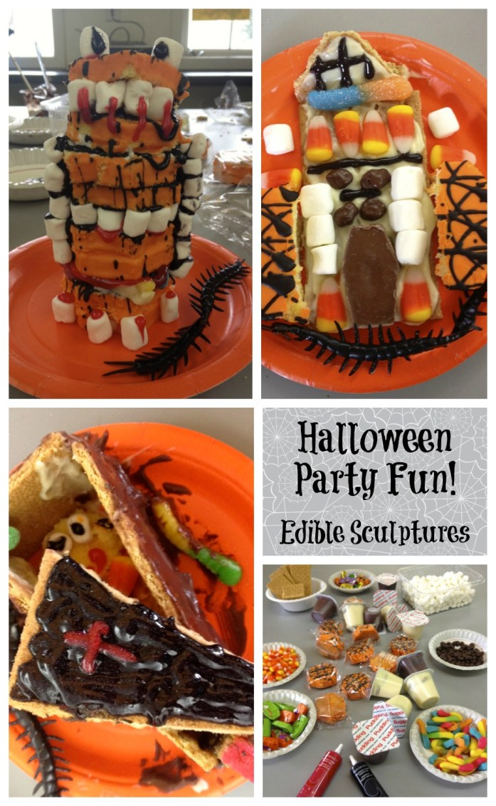 Halloween Party Fun with Edible Scuptures