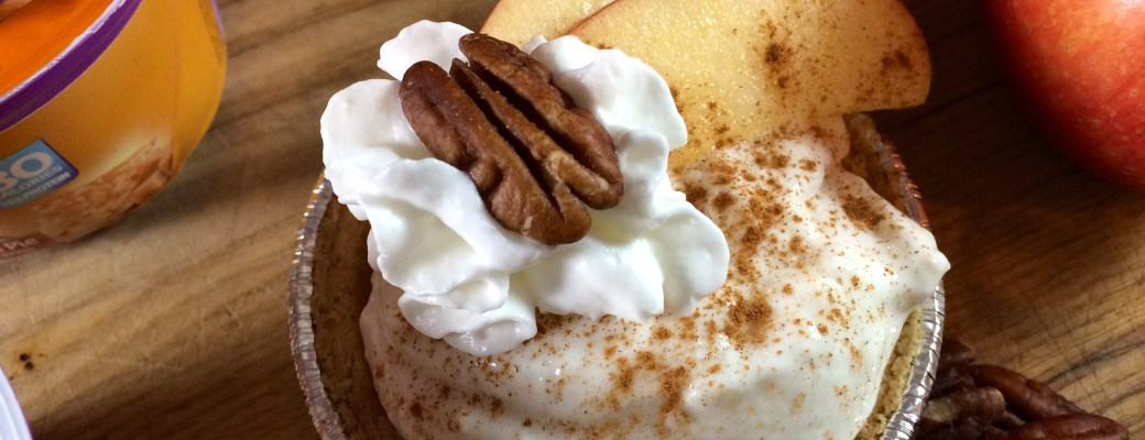 Caramel Apple Anytime Greek Yogurt Pies #EffortlessPies