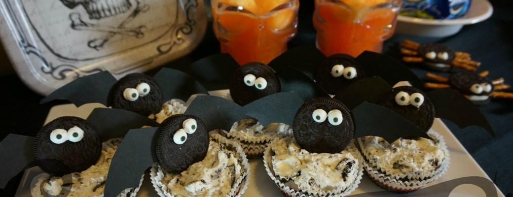 Just Plain Batty No-Bake OREO Cheesecake Recipe #SpookySnacks