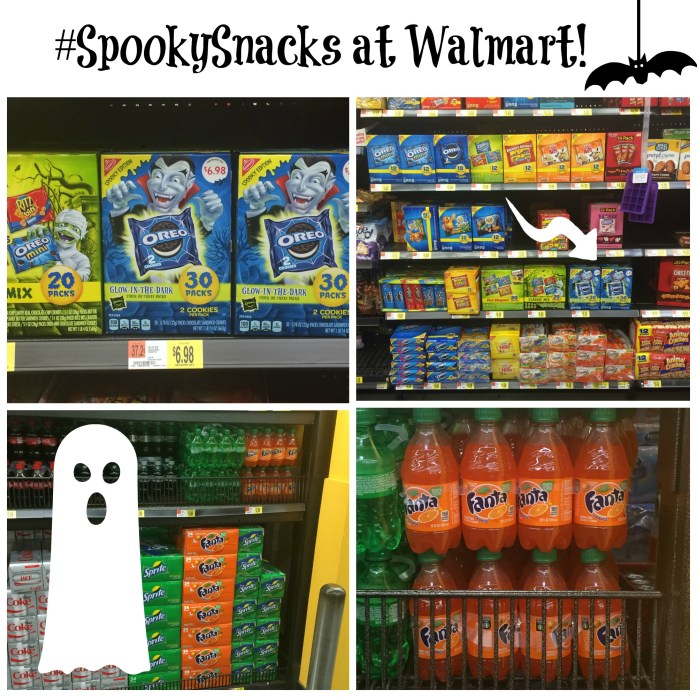 #SpookySnacks at Walmart