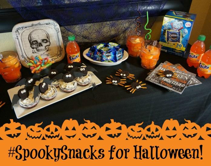 #SpookySnacks for Halloween!