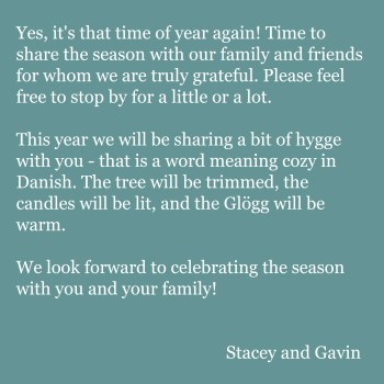 Evite Christmas Invite