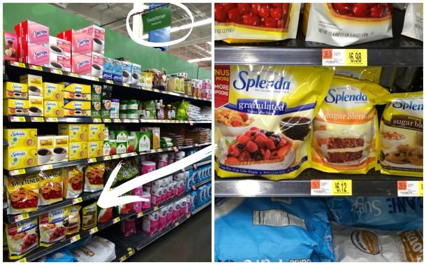 SPLENDA Walmart #splendaholiday