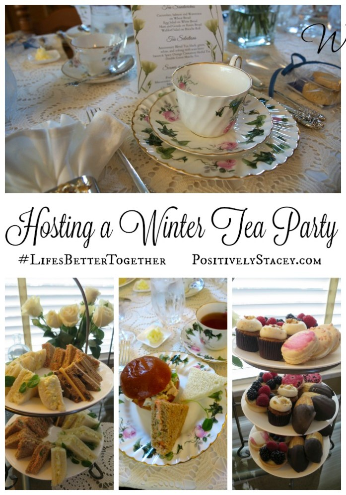 Warm Up Winter with Friendship and Tea! Here is everything you need to host a Winter Tea Party because #LifesBetterTogether