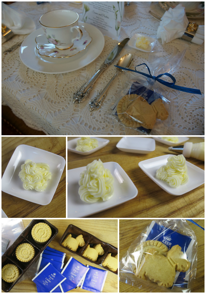 Tea Party Butter Pats