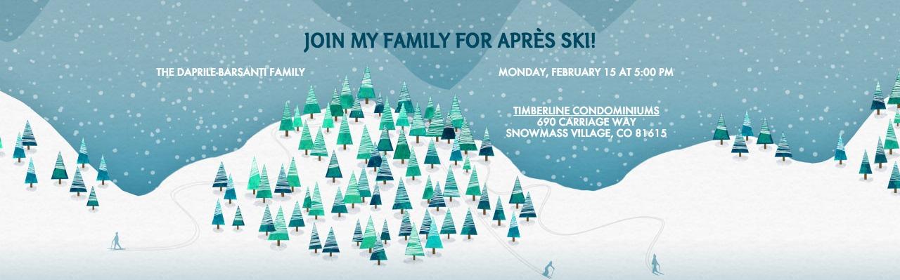 Apres Ski Evite