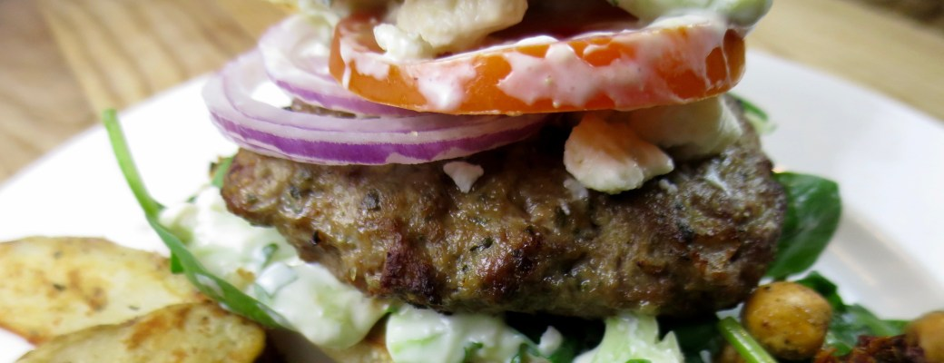 Greek Lamb Burgers #SundaySupper
