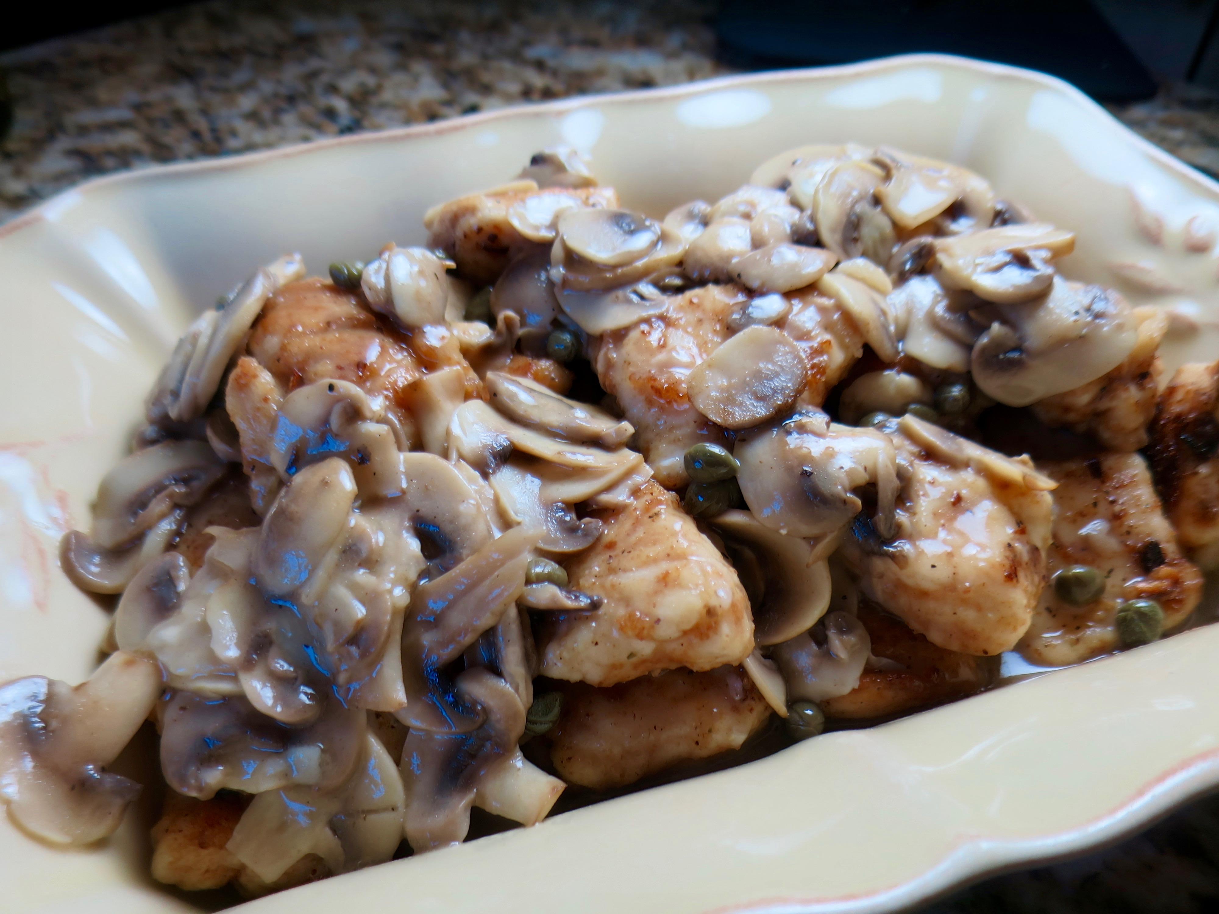 Chicken Scallopini Appetizer Bites