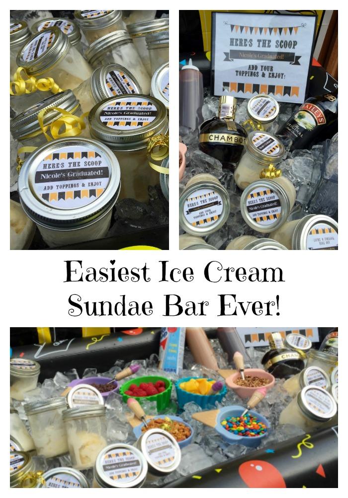 Easiest Ice Cream Sundae Bar Ever Positively Stacey