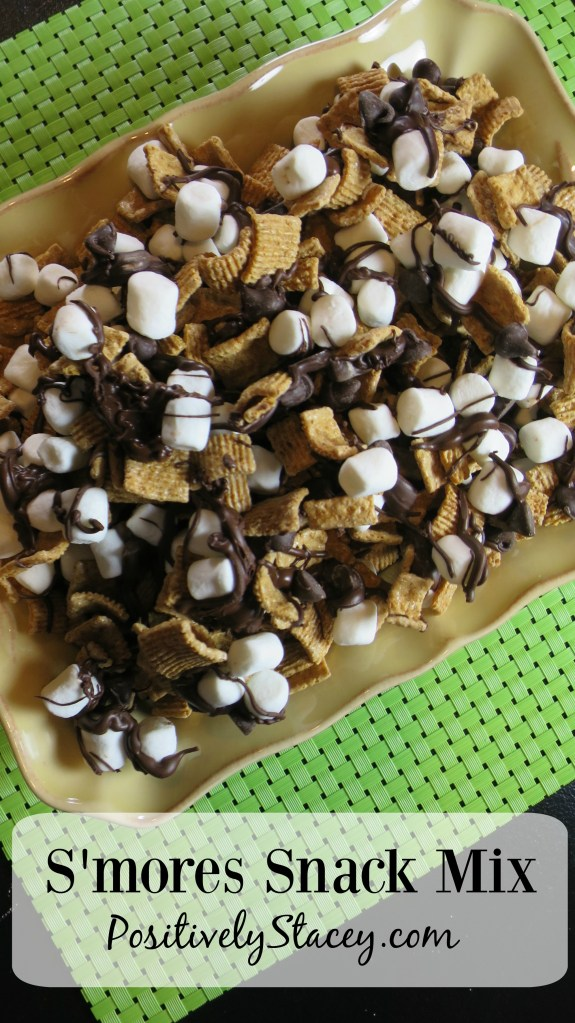 S'mores Snack Mix Recipe #SundaySupper