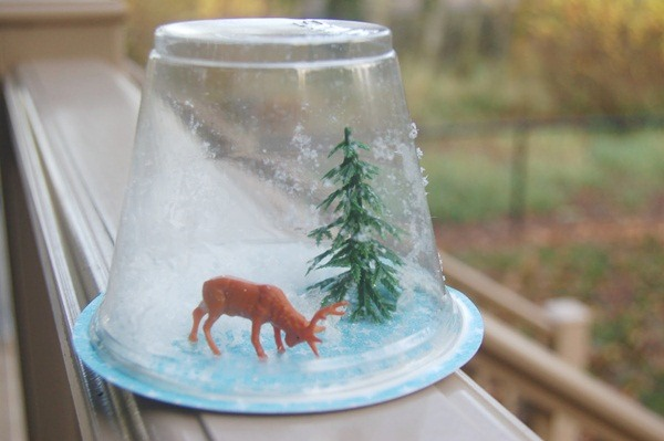 Christmas Snow Globes DIY from DIY Christmas Decore.