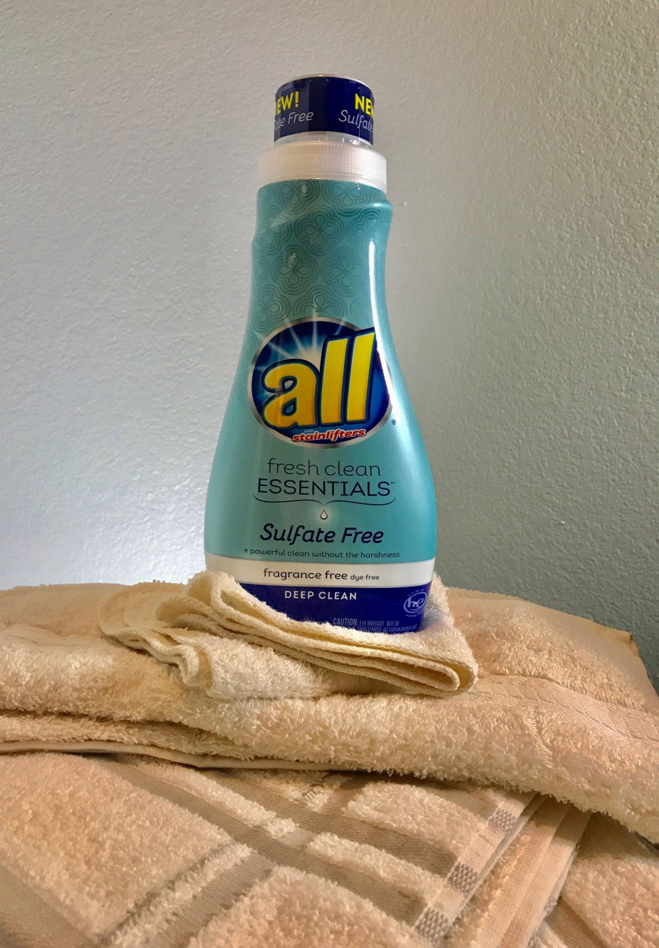 sulfate free all® fresh clean ESSENTIALS®